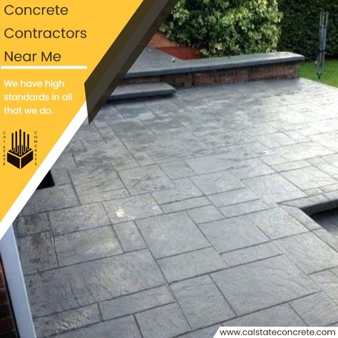 Strong And Durable Cal State Concrete Sustainable Building Materials Concrete Patio Building Materials