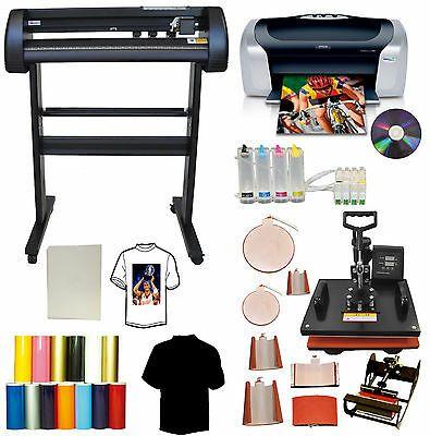 Ad Ebay Url 8in1 Combo Heat Press 28 24 Laser Point Metal Vinyl Cutter Plotter Printer Cis In 2020 Vinyl Cutter Sticker Printer Heat Transfer Vinyl