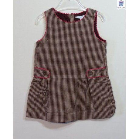 f6bd53b7dd620 Robe Jacadi à carreaux 12 mois - Ocaz pour les kids