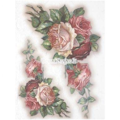 Rice paper decoupage #160902 napkin vintage Flowers Decoupage supplies craft