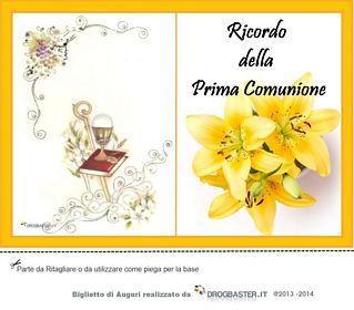 Biglietto Auguri Prima Comunione Prima Comunione Porta Segnaposto Comunione