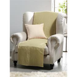 Überwurf für Sessel und Einzelbett ca. 160x190cm Peter Hahn grün Peter HahnPeter Hahn