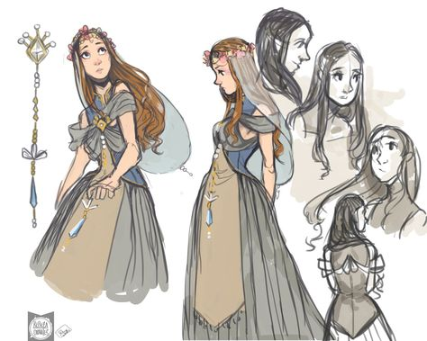 """princesse Ella est la petite fille de la princesse victoria. Elle fait partit des rares filles à être des """"jouvencelle"""", cet a dire qu'elle a la capacité de comprendre les animaux et d'avoir une voix enchanté capable de charmer les hommes autour d'elle"""