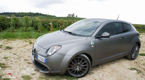 Cars - Alfa Romeo MiTo Quadrifoglio Verde : un concentré de style et la boîte TCT pour la version 2014 ! - http://lesvoitures.fr/alfa-romeo-mito-quadrifoglio-verde/