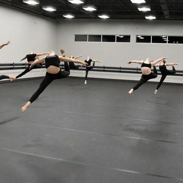 Adagio Marley Dance Flooring At Dancin With Roxie In 2020 Home Dance Studio Marley Floor Dance Dance Studio Design
