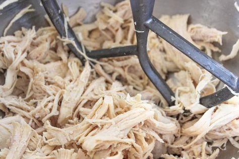 shredded chicken for buffalo chicken dip