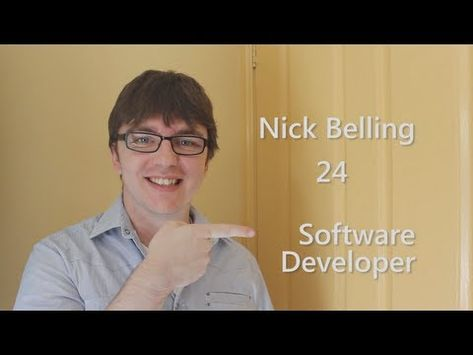 Irreverent, clever and creative video resume by Nick Belling - video resume