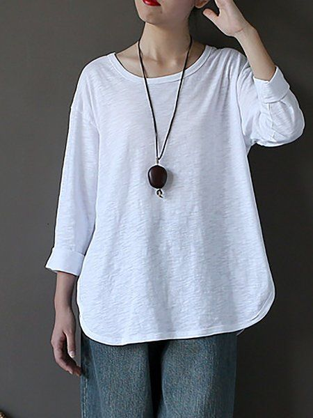 5f8134f023 Shop Linen Tops from VIVID LINEN, buy White Cotton-blend Solid Top ...