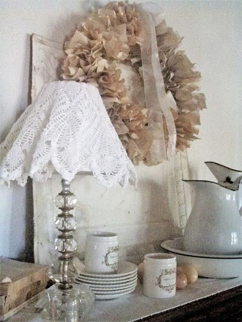 Lampade Shabby Chic Pinterest.Summer In Sepia Cottage Style Pinterest