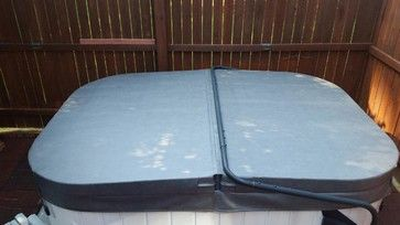 Deluxe Spa Cover In Charcoal By Merlin Industries Inc Swimming