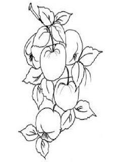 Desenhos De Acerola Para Colorir Moldes E Riscos De Acerola