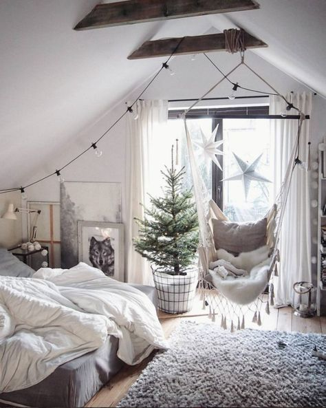 Hanging Chairs Add Some Character To Your Home Nesting With Grace Bedroom Hanging Chair Bedroom Decor Diy Hanging Chair