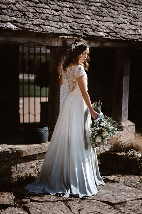 Romantic Blue and Provençal Inspired Bridal Editorial - Romantic Blue and Provençal Inspired Bridal Editorial