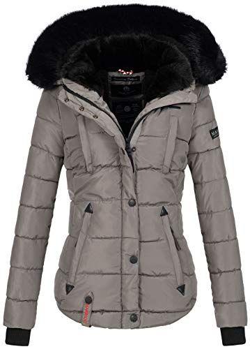 Marikoo warme Damen Winter Jacke Winterjacke Steppjacke