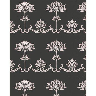 Mullen 24 W Peony Peel And Stick Wallpaper Panel Traditional Interior Design Wallpaper Panels Peel And Stick Wallpaper