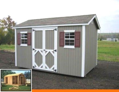 Free Diy Shed Plans 8x10 Shed Plans That Are Designed To Be Easy To Build From And As Cost Effective As Possible In 2020 Building A Shed Diy Shed Plans Shed Storage