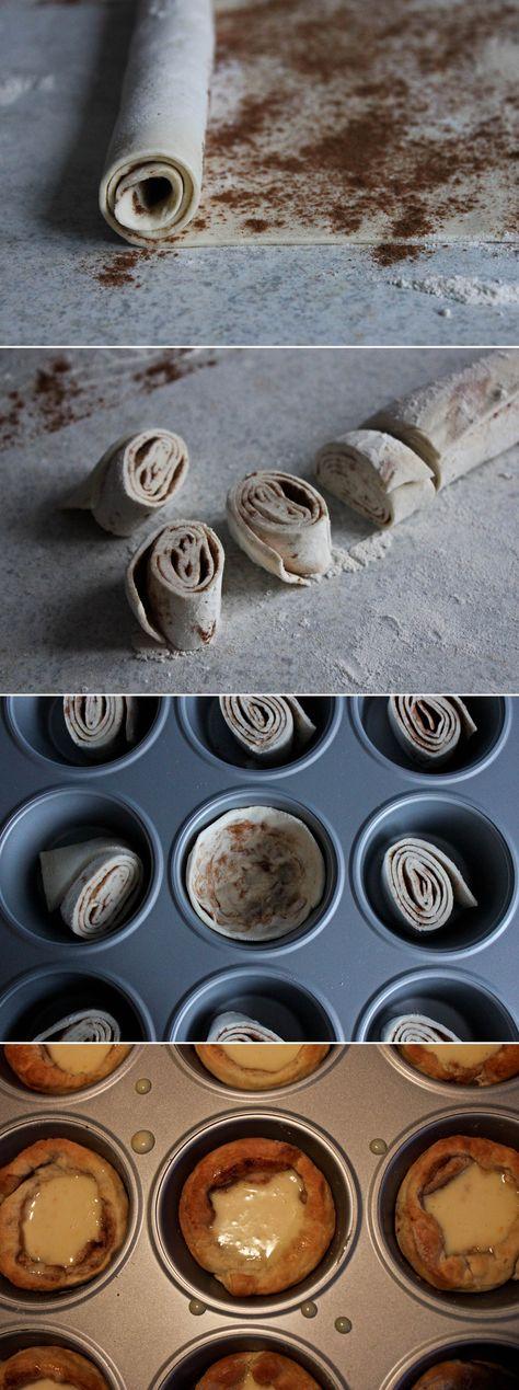 Food: Portugiesische Blätterteig-Törtchen á la Jamie Oliver