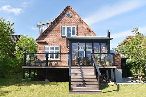 Orangeri Tilbygning I Gentofte Med Billeder Gamle Huse Terrasse Huse