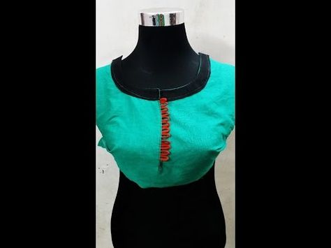 How To Make Kurta Neck Design In Easy Way Easy Craft Ideas Saree