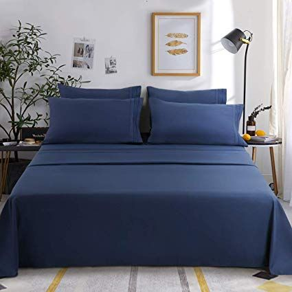 100 Microfiber Polyester New 1800tc Materials Designed With Simple Sophistication Combined With Bst Brushe Most Comfortable Bed Sheets Bed Sheet Sets Bed