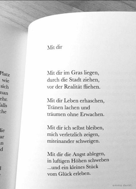 Emma Denkt Gedichtszitate Sprüche über Freundschaft Und