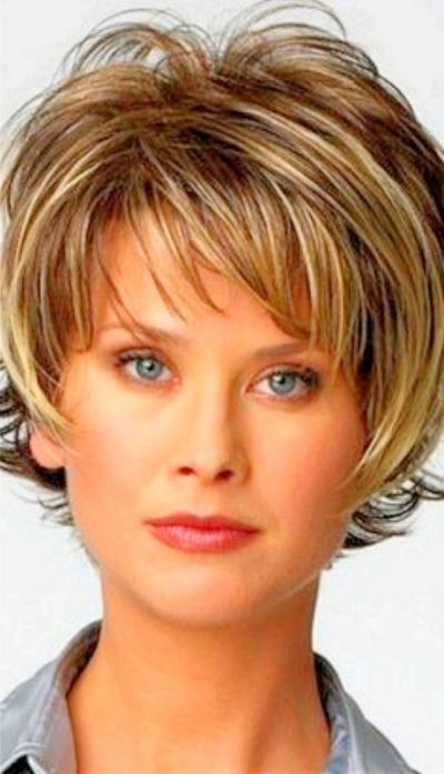 Easy No Fuss Hairstyles For Women Shot Hair Styles Hair Styles Hair Styles For Women Over 50