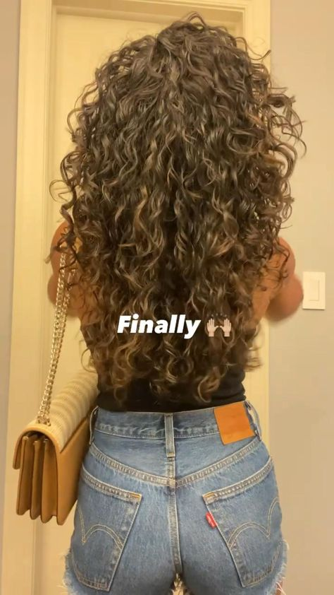 Curly hair routine 👩🏽🦱