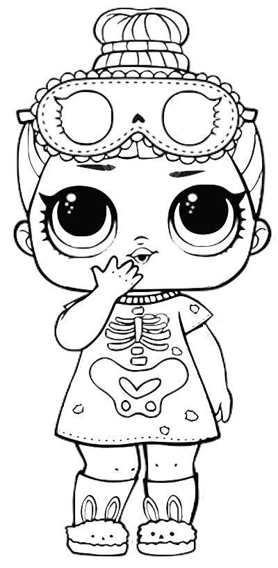 Coloriages Poupees Lol Surprise 80 Photos Noir Et Blanc Halloweencoloringpages Coloriages Poupees Lol Surpri Lol Dolls Coloring Pages Disney Coloring Pages