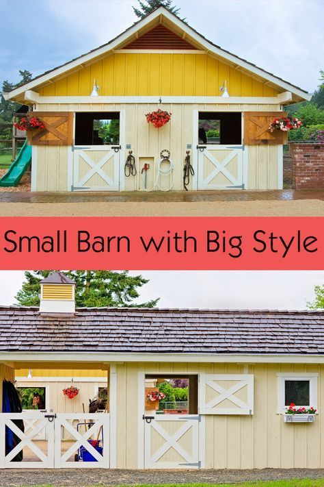 A Colorful Washington Stable With Great Design Stable Style Dream Horse Barns Horse Farm Layout Horse Barn Plans