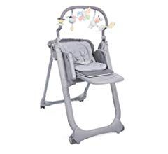 Chicco Chaise Haute Bebe Polly Magic Relax 4 Roues Cocoa Dossier