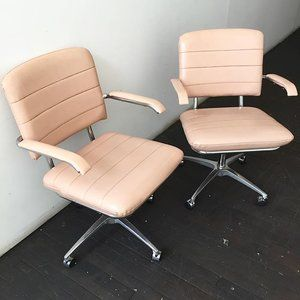 Vintage Furniture Design, Home Goods Chairs On Wheels