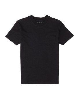 Billabong Mens Mesa Slub Crew Short Sleeve T-Shirt