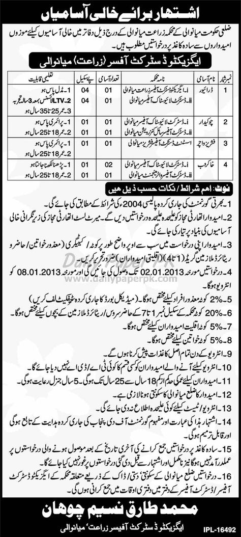 Jobs In Punjab Police Lahore Daily Paperpk Jobs Pinterest - chief executive officer job description