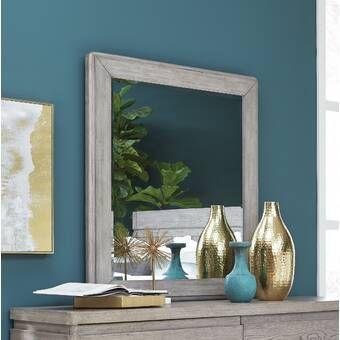 Mistana 2 Piece Uptal Silver Leaf Traditional Wall Mirror Set Reviews Wayfair Mistana