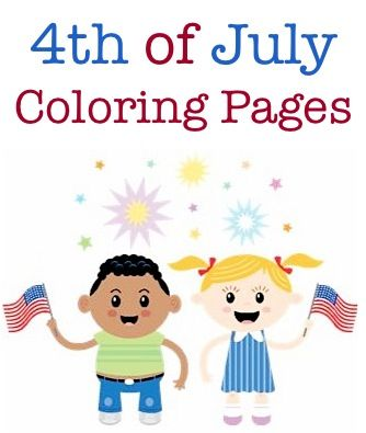 FREE 4th of July Coloring Pages!