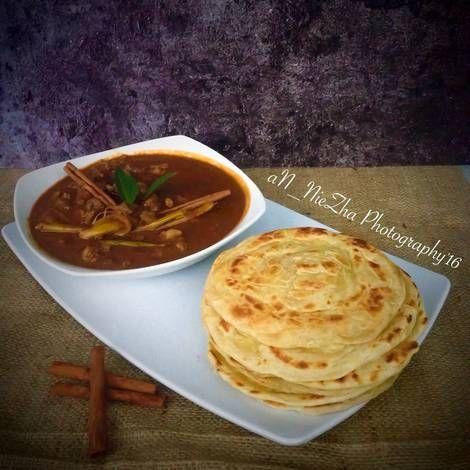 Resep Roti Canai Kari Daging Oleh Dapoer Nyonya Resep Rotis Resep Masakan Indonesia Resep Roti