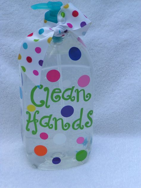 Custom Personalized Huge Hand Sanitizer With Pump By Ladedotty