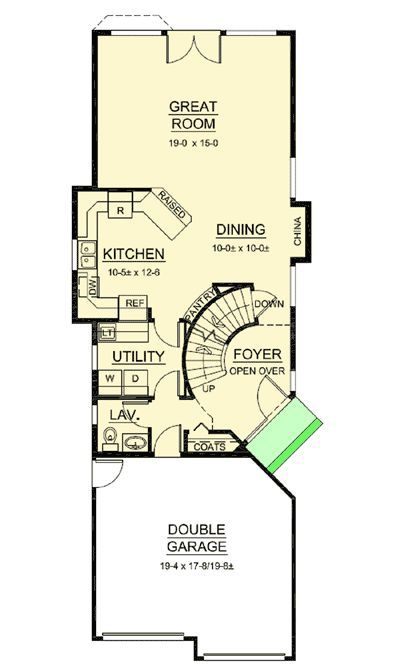 Plan 6780mg Narrow Lot Design Has It All Narrow House Plans Garage House Plans Narrow Lot House Plans