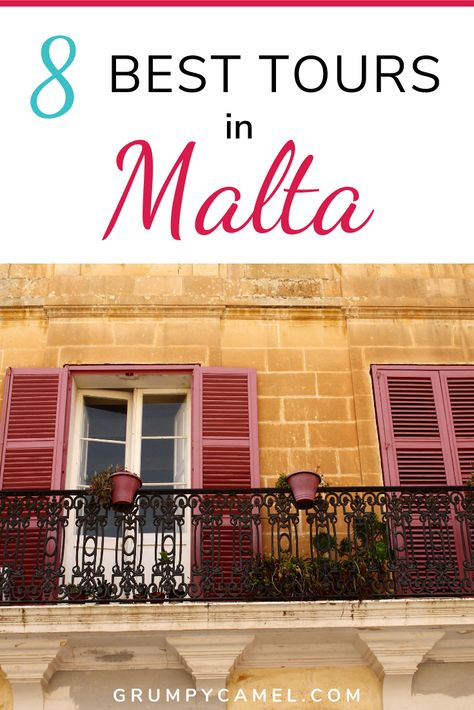 Malta Guide: 8 Amazing Day Trips & Sightseeing Tours