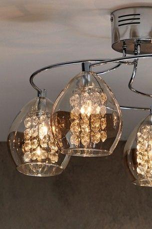 big sale 27d99 e2c1b Bella 5 Light Flush Fitting | Hill Close - Living Room in ...