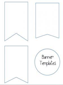 diy banner template