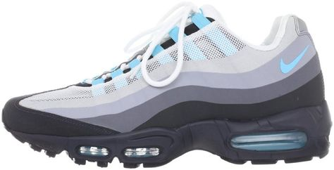 nike air max 95 no sew anthracite sax blue new images