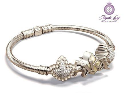 Alpha Kappa Alpha heirloom bracelet
