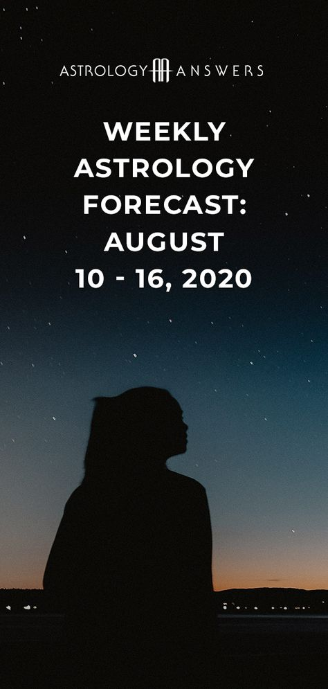 Uranus retrograde and heightened Leo energy are a few things we can look forward to this week.   Read on to see what else is coming in our latest astrology forecast for August 10th - 16th, 2020! #astrology #astrologyforecast #astrologyoverview #astrologyanswers
