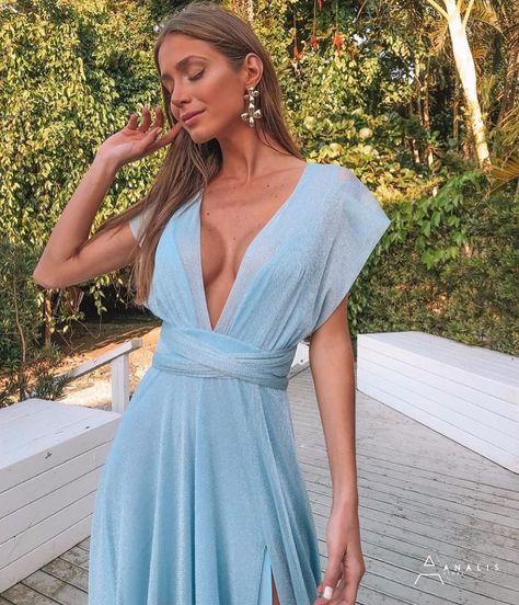 List Of Vestido Mil Formas Azul Pictures And Vestido Mil
