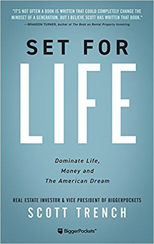 Set For Life Dominate Life Money And The American Dream Tips For Financial Freedom Retireearly Personal Finance Books Finance Books Best Self Help Books