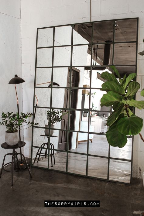 Ikea Industrial, Industrial Mirrors, Industrial Office Space, Industrial Kitchens, Industrial Style Furniture, Industrial Home Design, Vintage Industrial, Cool Kitchens, Diy Wall Decor