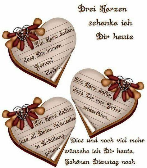 Euch allen einen schönen Dienstag verbunden mit ganz vielen Wünschen. - #allen #dienstag #Einen #euch #ganz #mit #schönen #verbunden #vielen #wünschen -