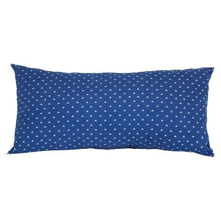 20 For 2 Outdoor Pillow Blue Triangle Room Essentials Target
