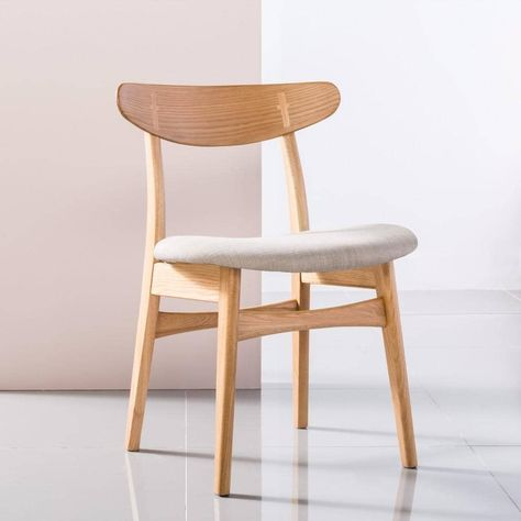 Solid American Oak Dining Chair - Magnus   IconByDesign